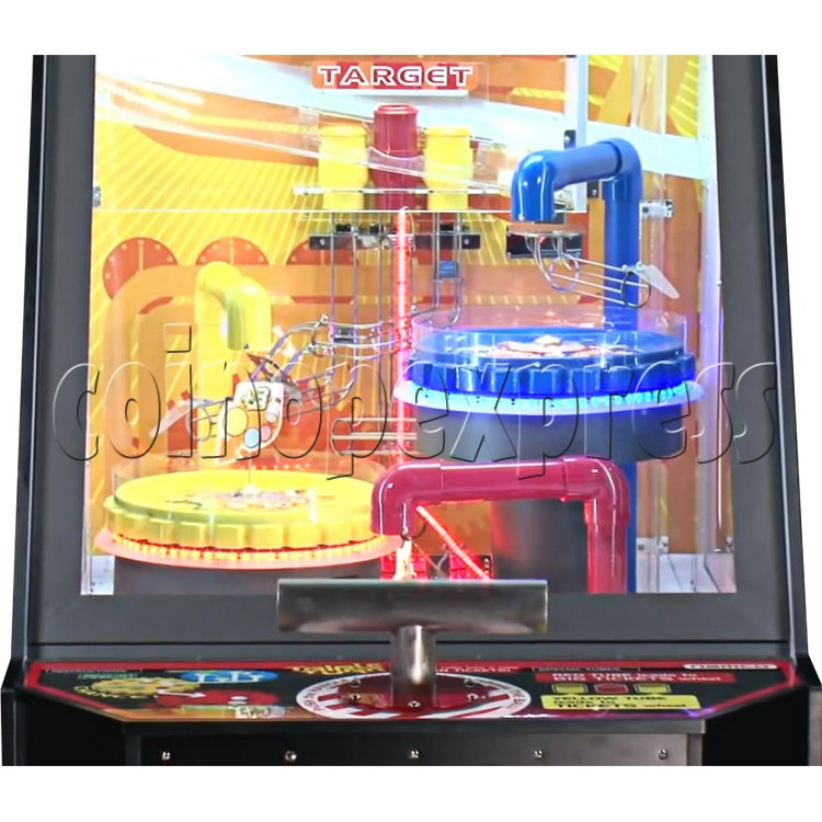 Triple Turn Ball Game Skill Test Redemption Machine 36797