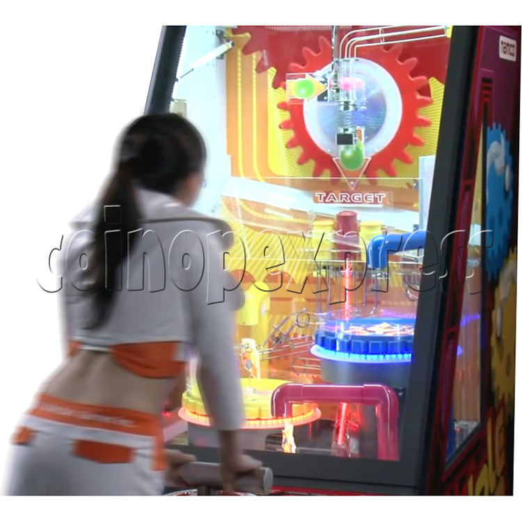 Triple Turn Ball Game Skill Test Redemption Machine 36803