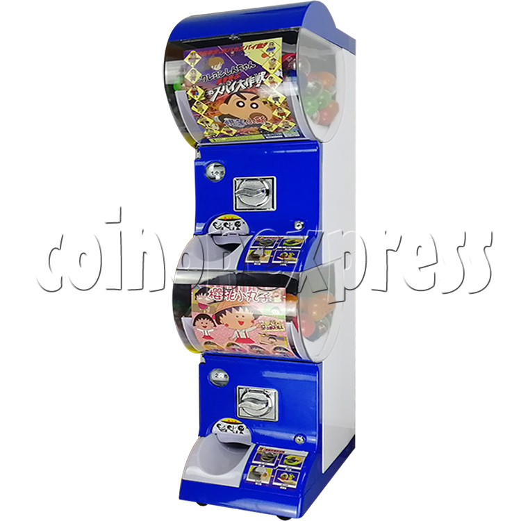Coin-operated Double Toy Capsule Vending Machine  36811