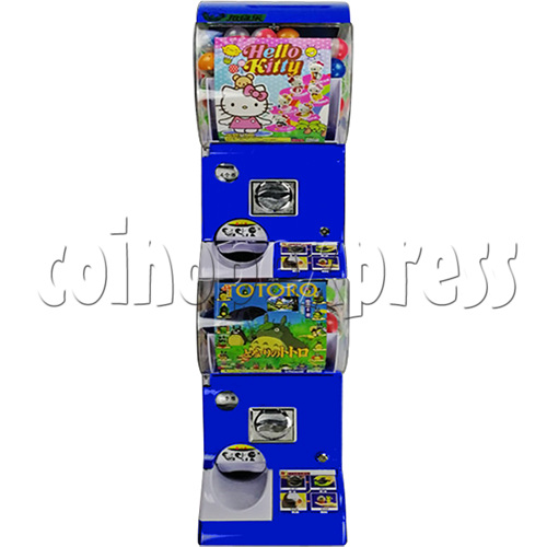 Coin-operated Double Toy Capsule Vending Machine  36812