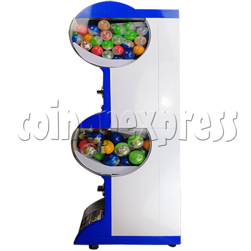 Coin-operated Double Toy Capsule Vending Machine  36813