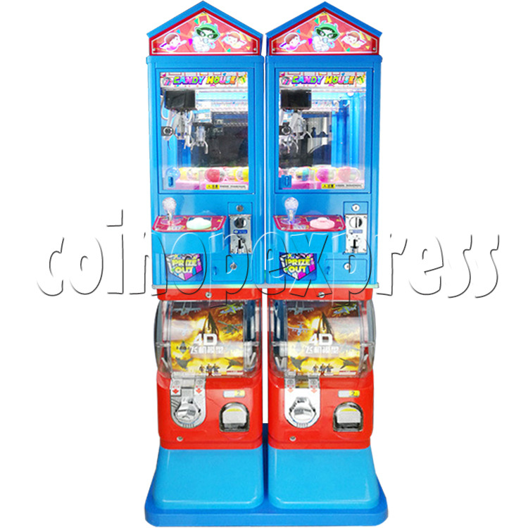 Candy House Crane and Capsule Vending Machine 36857