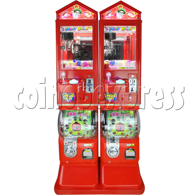 Candy House Crane and Capsule Vending Machine 36860