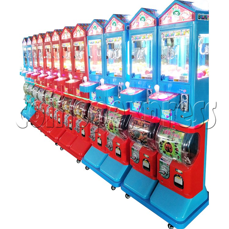Candy House Crane and Capsule Vending Machine 36866