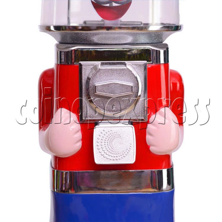 Cute Mr Ma Coin Operated Bouncy Balls Gumball Vending Machine  36872