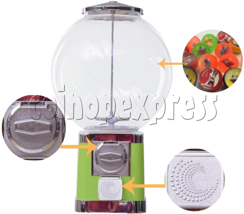 Round Spherical Capsule Vending Machine 36876