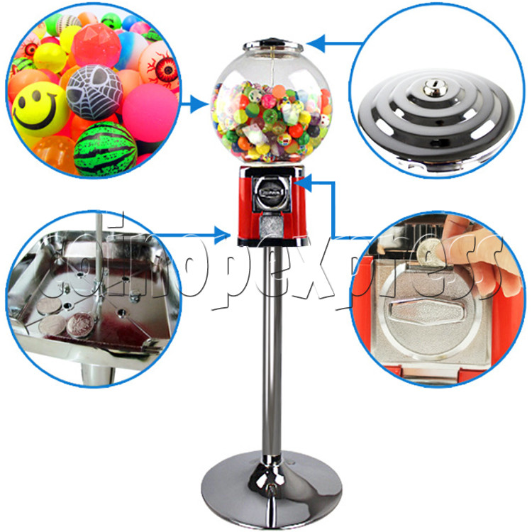 Round Spherical Capsule Vending Machine (Deluxe Version) 36880