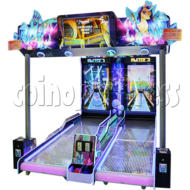 Fantasy Forest Bowling Ticket Redemption Arcade Machine - right view