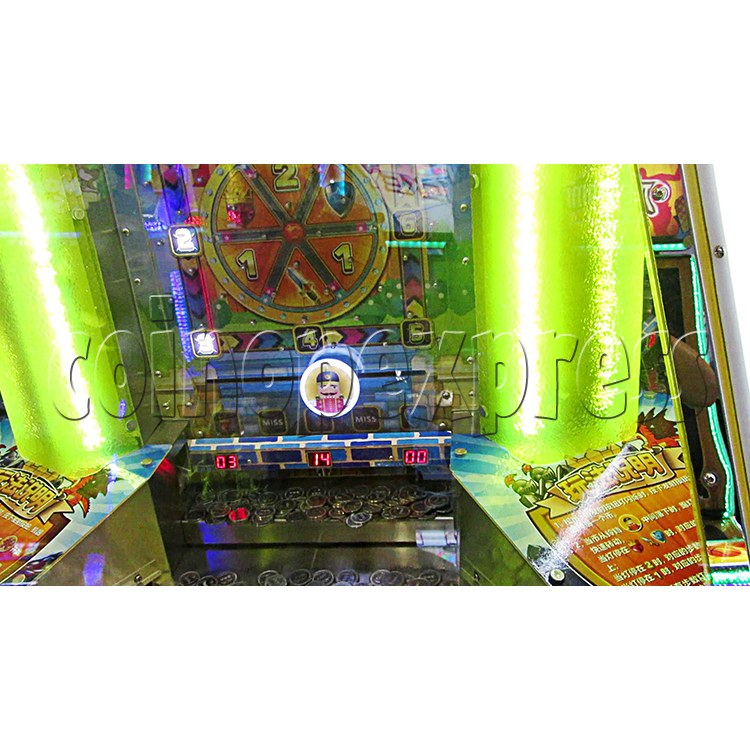 Fantasy Castle Coin Pusher Ticket Redemption Arcade Machine - reward region