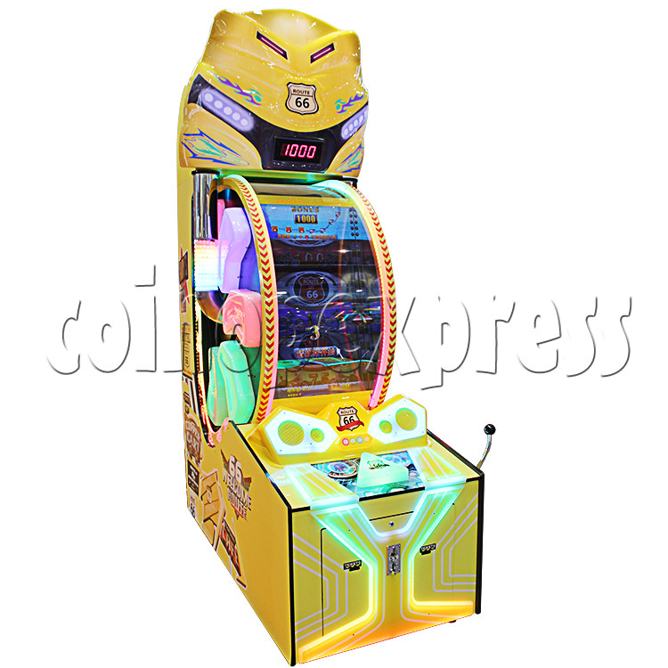 Route 66 Wheel Game Ticket Redemption Machine with 42 inch screen  37035