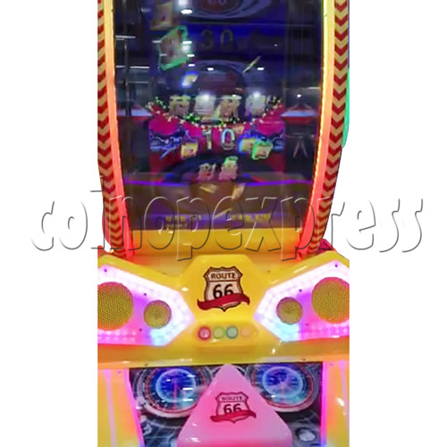 Route 66 Wheel Game Ticket Redemption Machine with 42 inch screen  37071