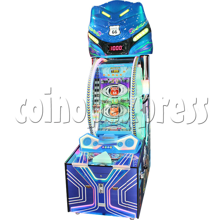 Route 66 Wheel Game Ticket Redemption Machine with 42 inch screen 10287