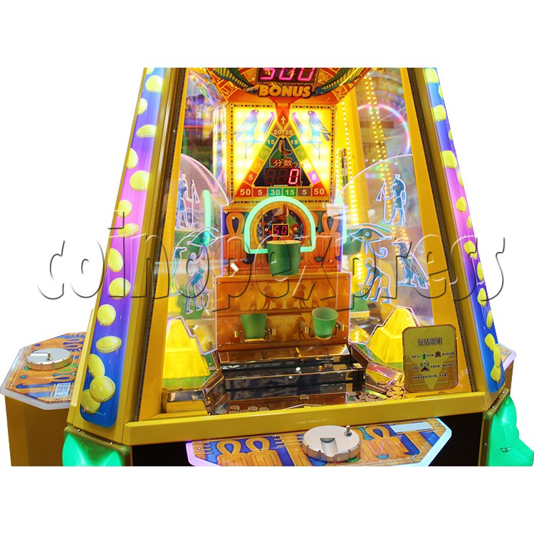 Treasure Pyramid Power Coin Drop Ticket Redemption Machine (4 players) 37137