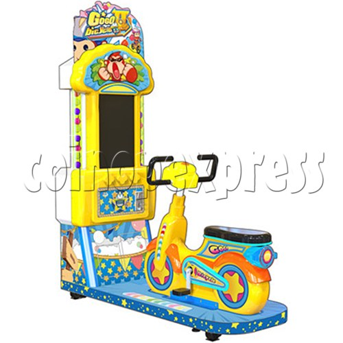 Go Go Bicycle Racing Video Game machine for Kid 37242