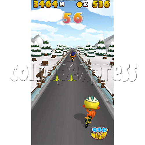 Go Go Bicycle Racing Video Game machine (DX Version) 37245