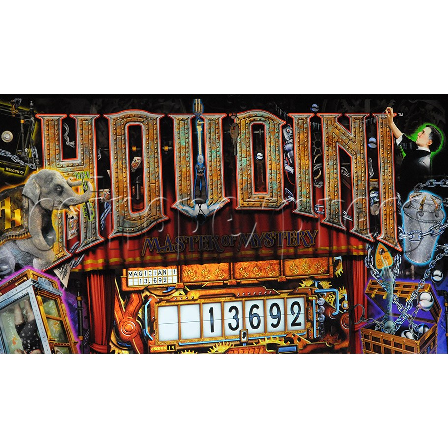 Houdini American Pinball Game Machine 37299