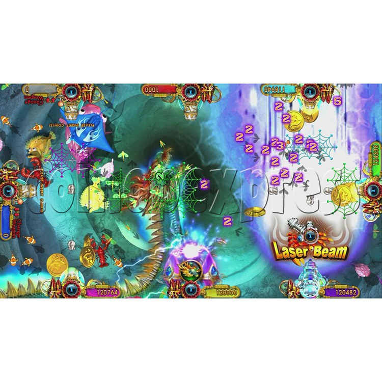 Ocean King 3 Plus Crab Avengers Full Game Board Kit China Release Version - screen display-16