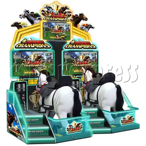Derby Champion Club Horses Racing Sport Game machine (2 Players) 37419