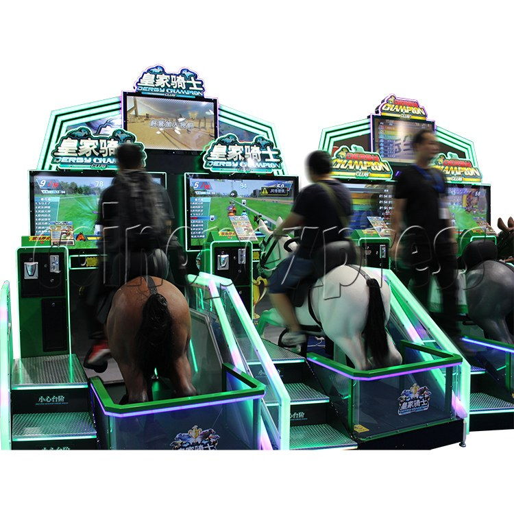 Derby Champion Club Horses Racing Sport Game machine (2 Players) 37420