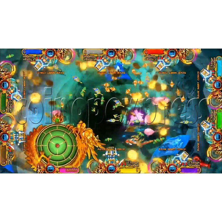 Ocean king 3 plus: Legend of the Phoenix Game board kit (China release) - screen display-8