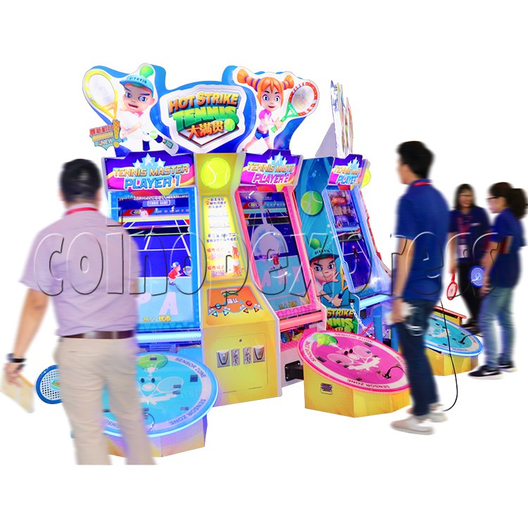 Hot Strike Tennis Ticket Redemption Arcade Machine 2 Players - play view 2
