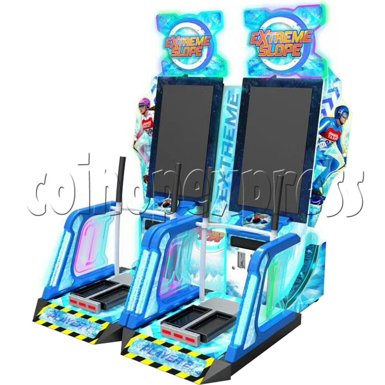Extreme Slope Ticket Redemption Arcade Machine - right view