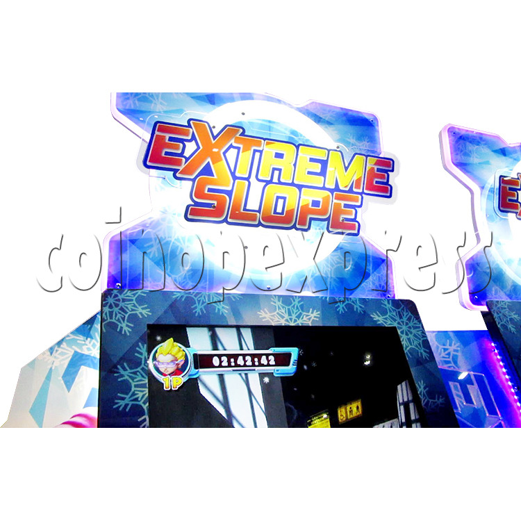 Extreme Slope Ticket Redemption Arcade Machine - header