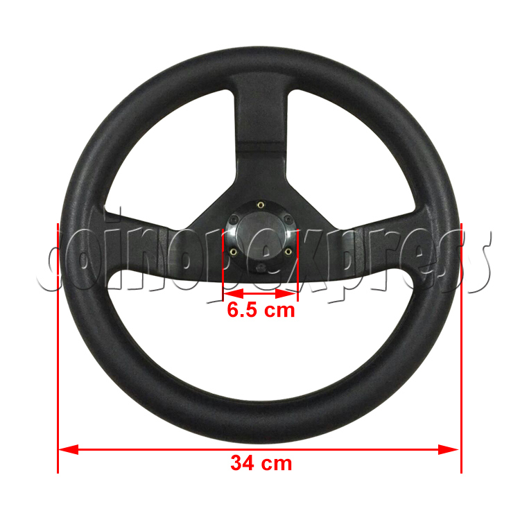 Steering Wheel for Arcade Racing Video Game Machine 37609