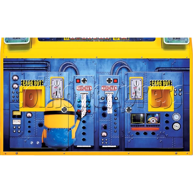 Despicable Me Jelly Lab Coin Roll Down Arcade Game machine 37690