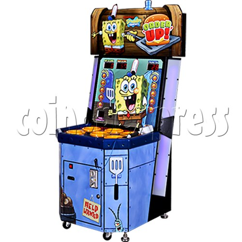 SpongeBob Order Up - Whack at a Classic game machine 37698