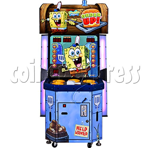 SpongeBob Order Up - Whack at a Classic game machine 37699