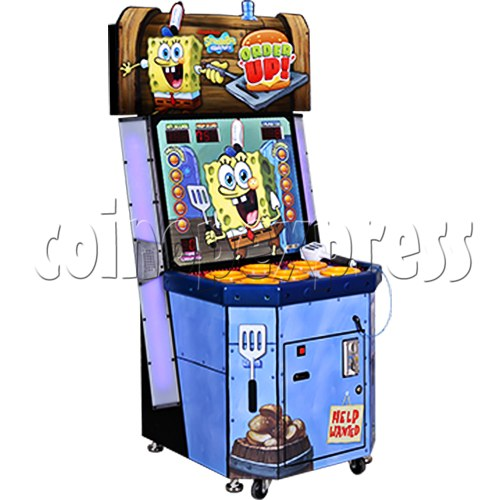 SpongeBob Order Up - Whack at a Classic game machine 37700