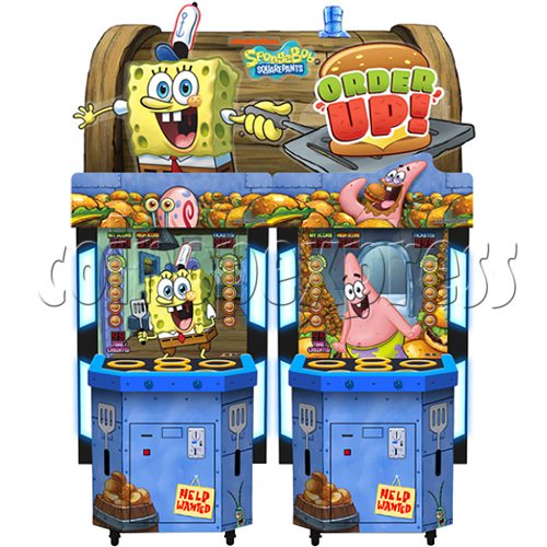 SpongeBob Order Up - Whack at a Classic game machine 37701