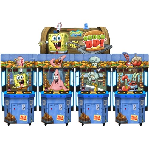SpongeBob Order Up - Whack at a Classic game machine 37702