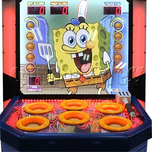 SpongeBob Order Up - Whack at a Classic game machine 37703