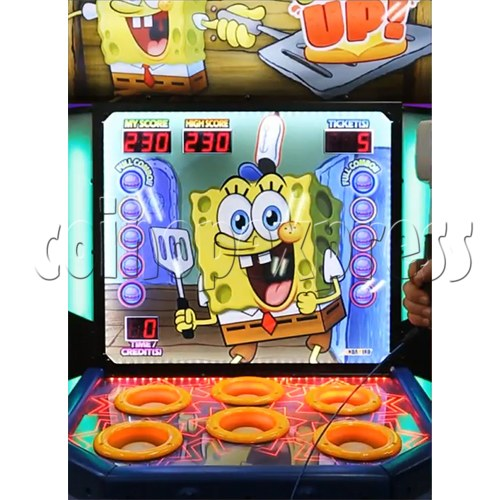 SpongeBob Order Up - Whack at a Classic game machine 37704