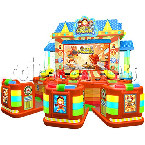 Cute Firemen Water Shooting Game 37763