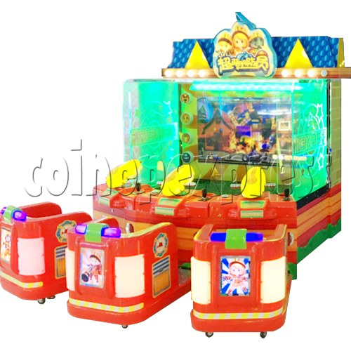 Cute Firemen Water Shooting Game 37764