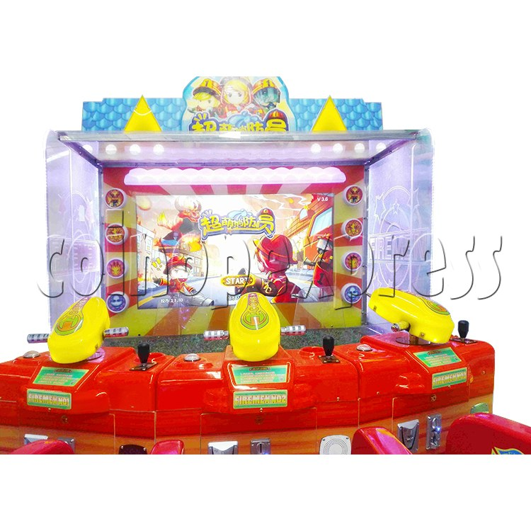 Cute Firemen Water Shooting Game 37765