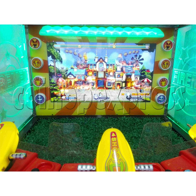 Cute Firemen Water Shooting Game 37767