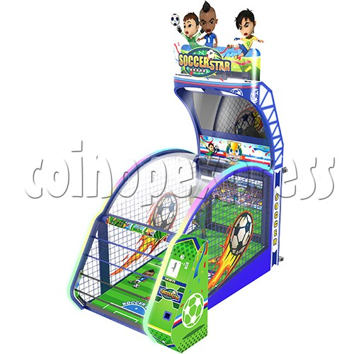 Soccer Star Football Shooting Redemption machine 37779