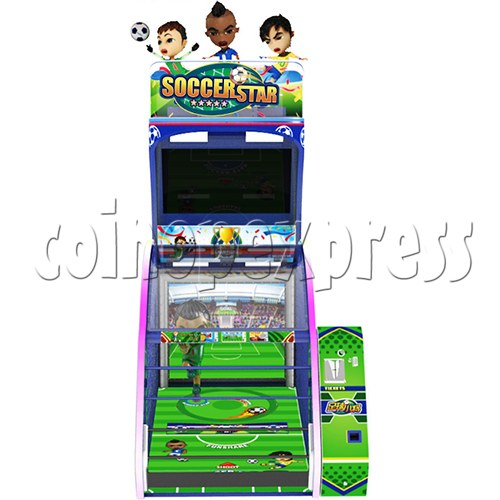 Soccer Star Football Shooting Redemption machine 37780