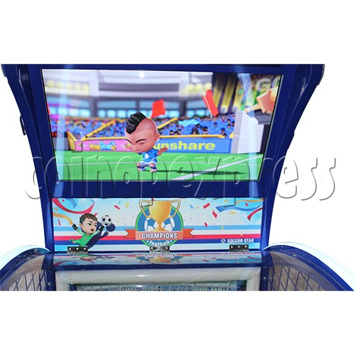 Soccer Star Football Shooting Redemption machine 37784