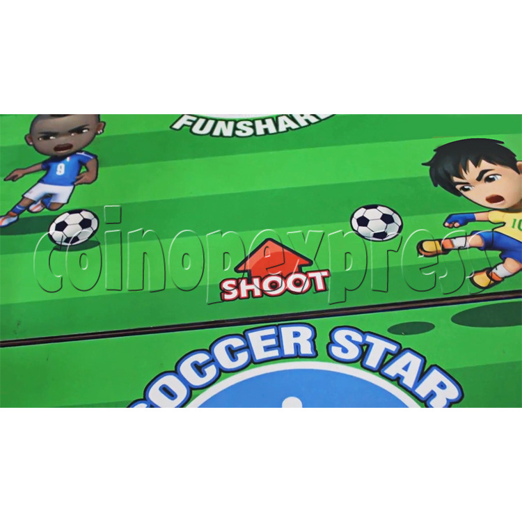 Soccer Star Football Shooting Redemption machine 37804