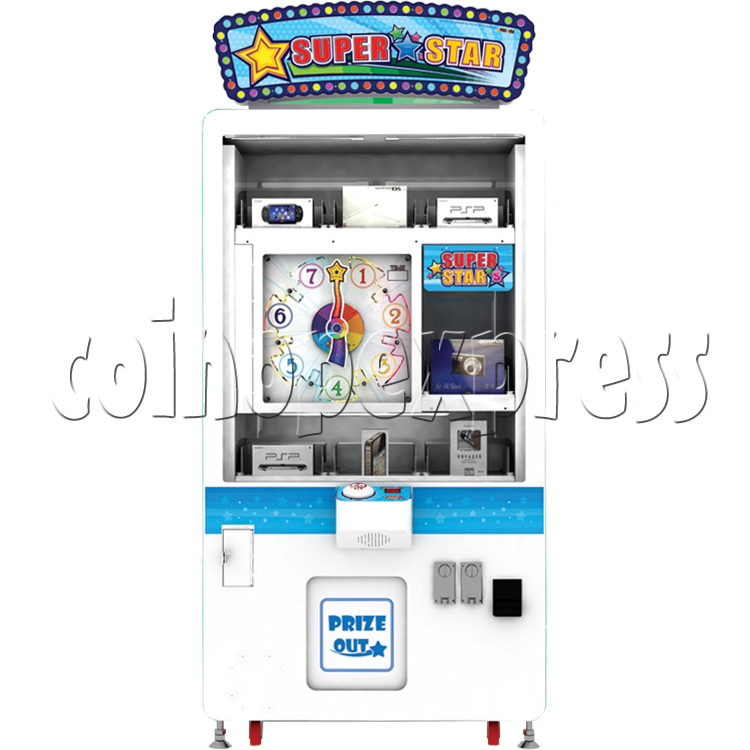 Super Star Skill Test Prize Game machine 37821