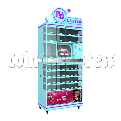 Lipstick Touch Screen Skill Test Prize Machine 37854