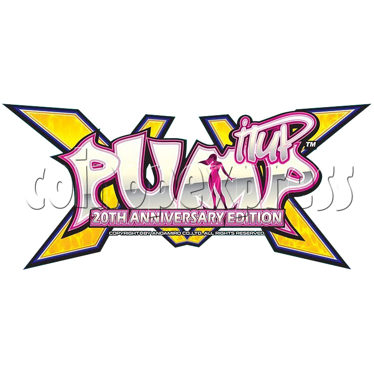 Pump It Up XX 20th Anniversary Full Game Board Kit 37942