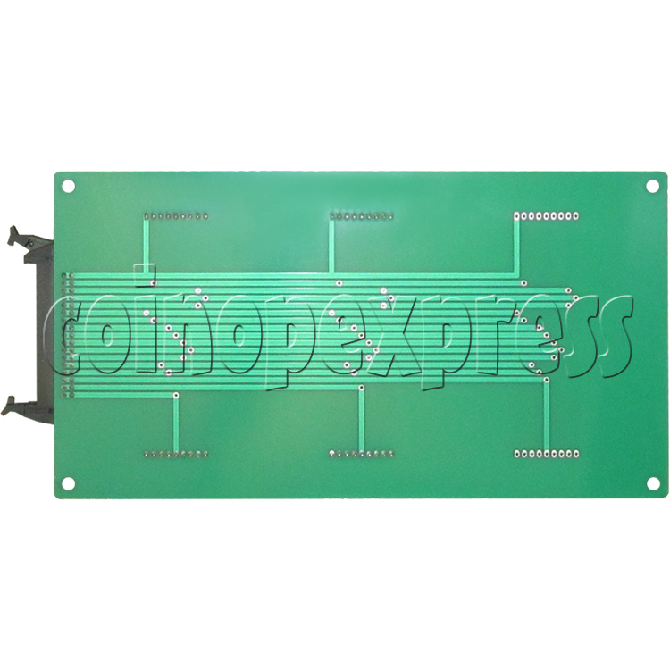 Time LED display board for Street Basketball Machine - back view