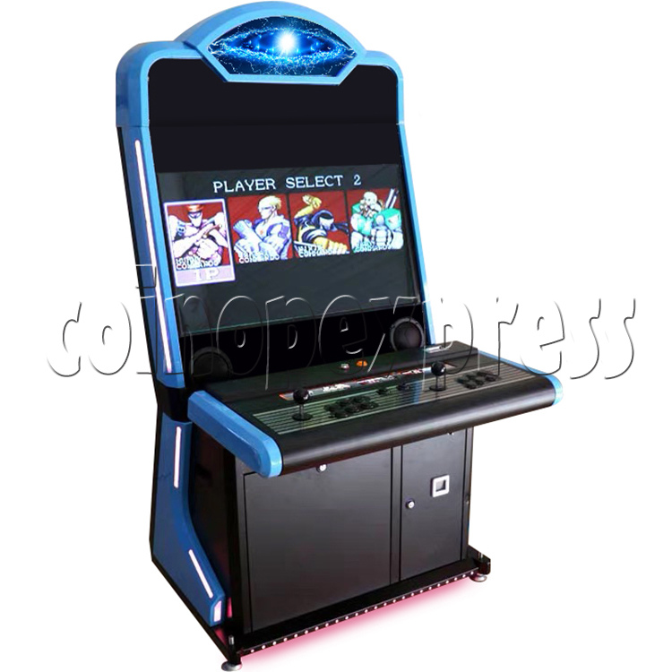 Warlord 32 inch Blue Arcade Cabinet-blue