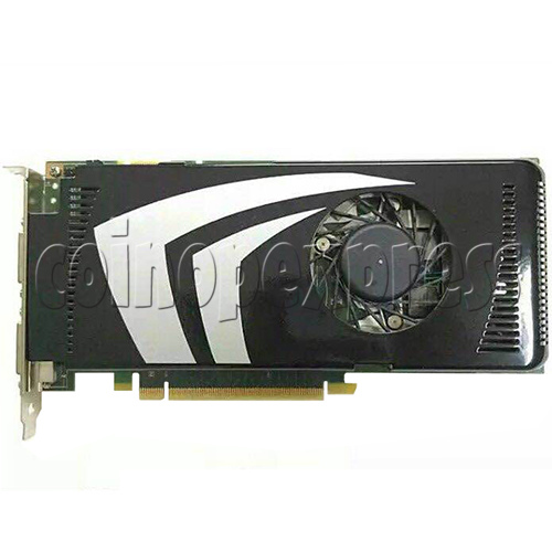 Video card for Initial D8 machine - Part No.9600GS - top view